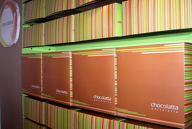 Diseño de packaging para tortas, base y caja superior.