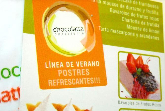 Diseño de folleto para productos de verano.