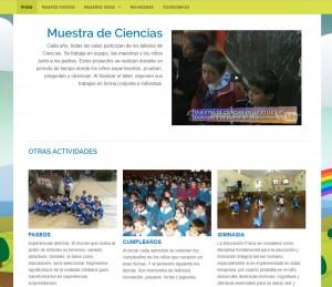 Con video institucional sobre las actividades.